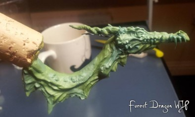 Forest Dragon WiP