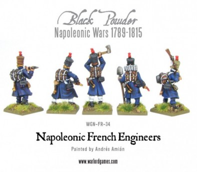 French Engineers (Rear)