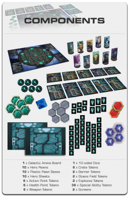 Galactic Arena contents