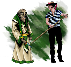 Gondolierre and Hybrid Cult Officiant