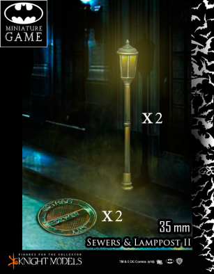 Gotham Sewers and Lamp Posts