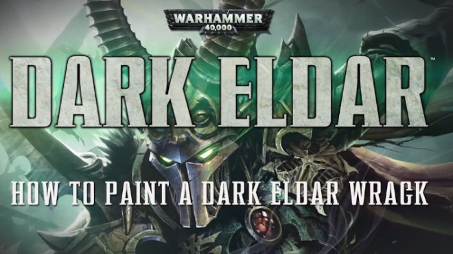 Games Workshop Painting Tutorial: Dark Eldar Wracks!