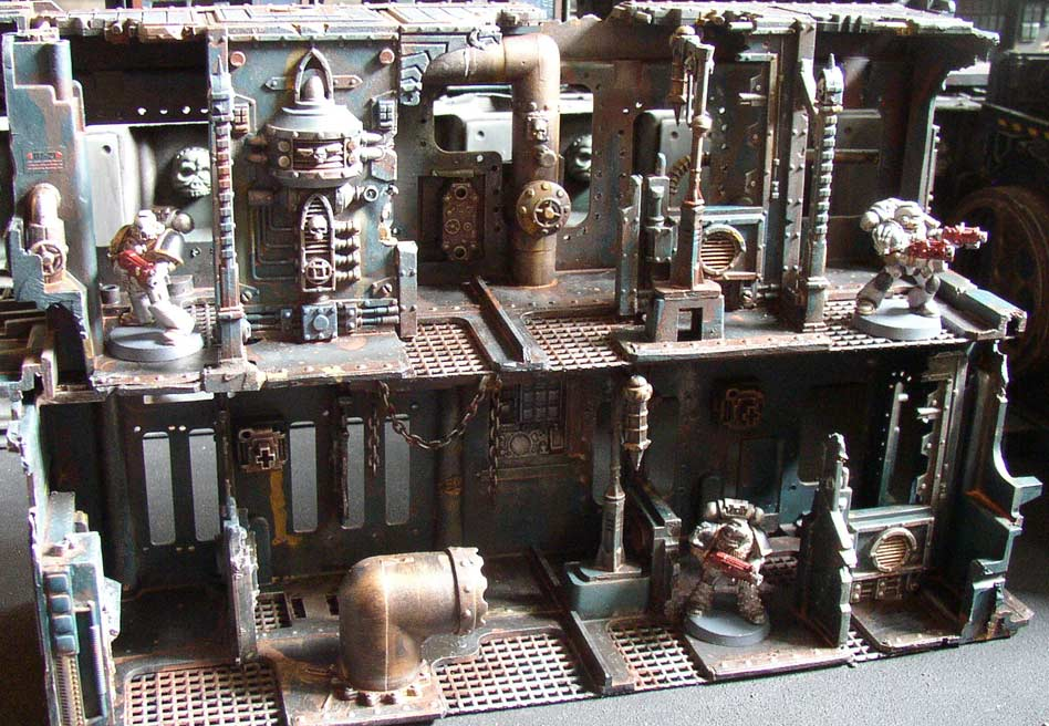 Awesome 3d Terrain For Space Hulk Amp Making Your Own