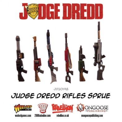 Judge Dredd Rifle Sprue