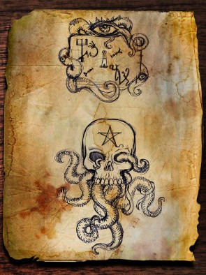 Lovecraft Nightmares Cult Icons