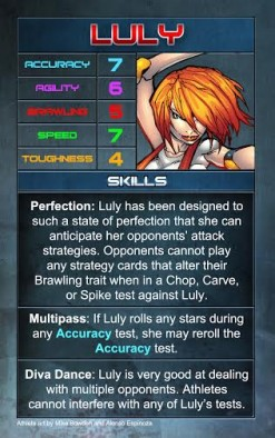Luly Stat Card