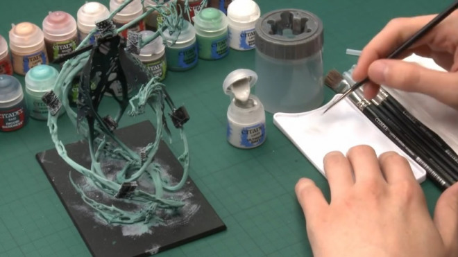 Games Workshop Painting Tutorial: How To Paint Nagash Part 2!