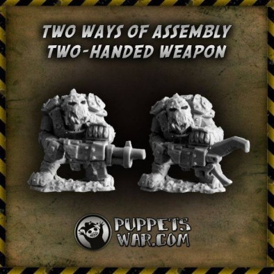 Orc Thugs Two Handed Weapons