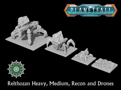 Relthozan Heavy, Medium, Recon and Drones