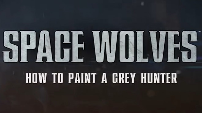 Games Workshop Painting Tutorial: How To Paint Grey Hunters!