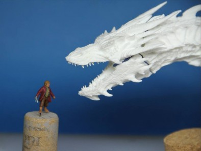 Dragon with Halfling (Scale)