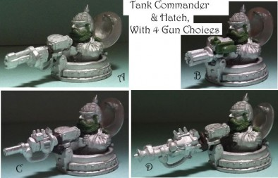 Tank Commander Scrunts