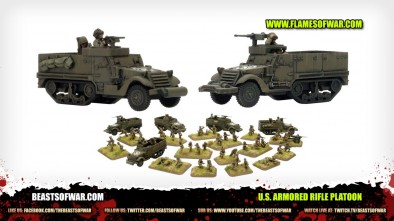 Unboxing Flames of War - U.S. Armoured Rifle Platoon