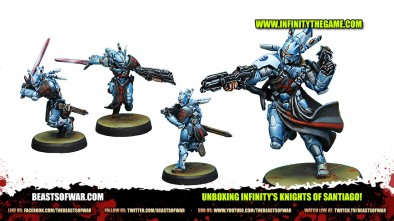 Unboxing Infinity's Knights of Santiago!