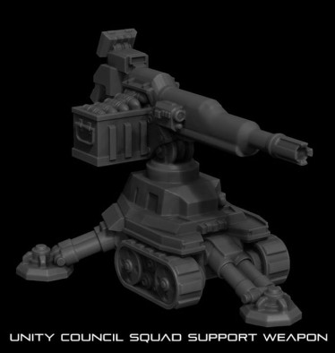 Unity Council Support Weapon (Automatic Grenade Launcher)