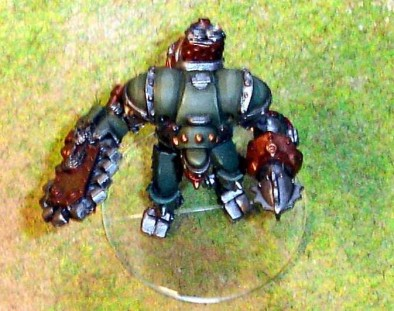 Warmachine Clear Bases