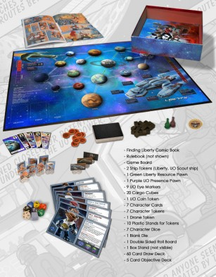 space movers contents