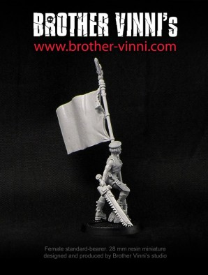 Female Standard Bearer #3