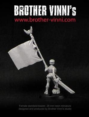 Female Standard Bearer #4