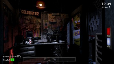Five Nights at Freddy's Outside the Door