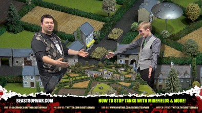 Flames of War FTW: How To Stop Tanks With Minefields & More!