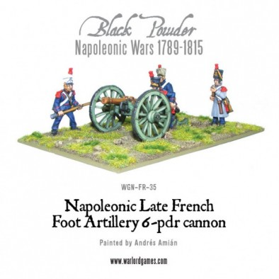 French 6pdr Cannon
