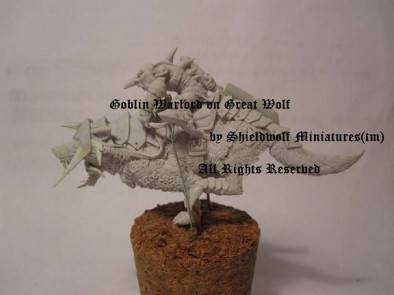 Goblin Warlord on Great Wolf