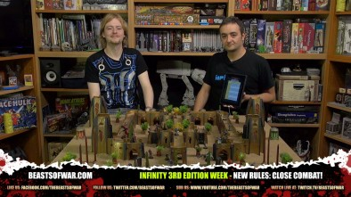Infinity 3rd Edition Week - New Rules: Close Combat!