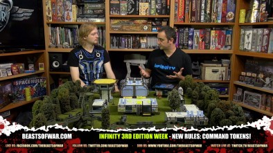Infinity 3rd Edition Week - New Rules: Command Tokens!