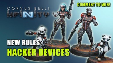 Infinity 3rd Edition Week - New Rules: Hacker Devices