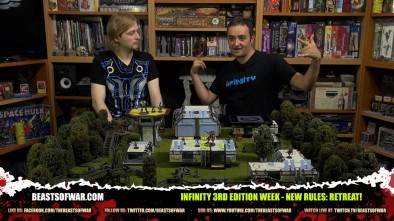 Infinity 3rd Edition Week - New Rules: Retreat!