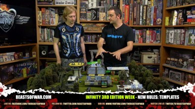 Infinity 3rd Edition Week - New Rules: Templates