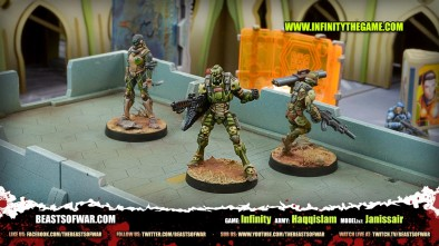 Game: Infinity Army: Haqqislam Model(s): Janissair