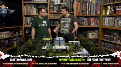 Infinity Table Chat #1 - The Forest Outpost!