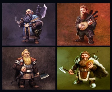 Iron & Ale Dwarven Lords