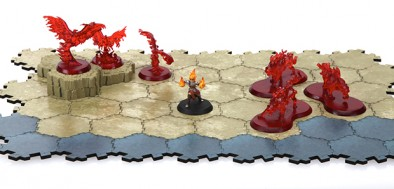 Magic the Gathering Strategy Board Game Prototype