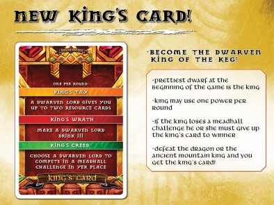 New King's Card