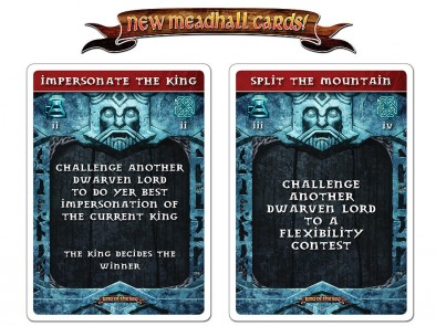 New Meadhall Cards