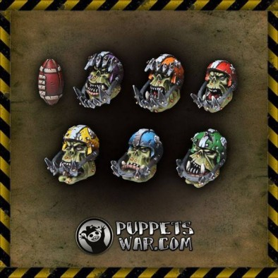 Orc Football Heads