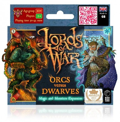 Orcs Versus Dwarves Magic & Monsters Expansion