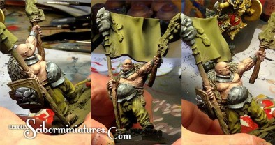 Painted Banner Ogre