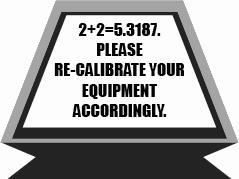 Re-Calibrate Equipment