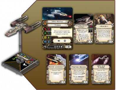 Most Want Y-wing