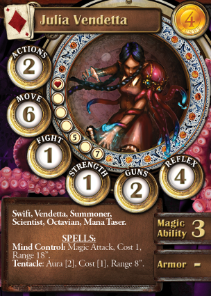 Scylla card Julia Vendetta
