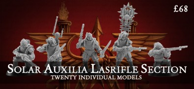 Solar Auxilia Lasrifle Section