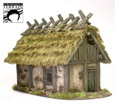 Stronghold Terrain Dark Age Peasant's House