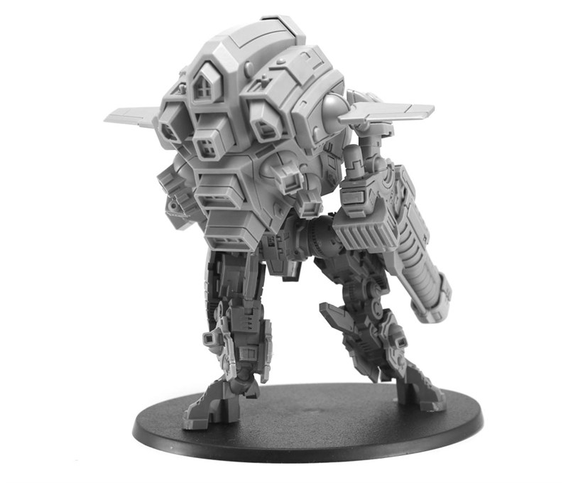 A Powerful New Tau Battlesuit Launches From Forge World