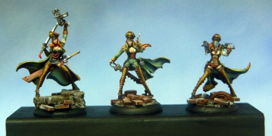 Toughest Girls in the Galaxy Painted