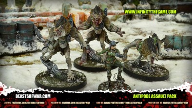 Unboxing The Antipode Assault Pack for Infinity!