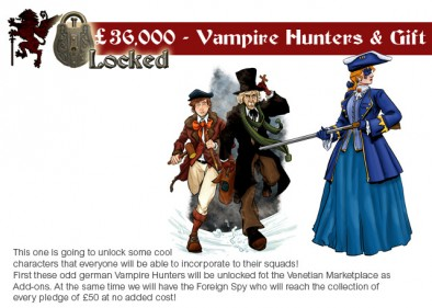 Vampire Hunters and Foreign Spy